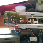 PCB del lector de cintas de cassette